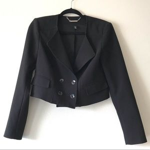 White House Black Market Crop Blazer